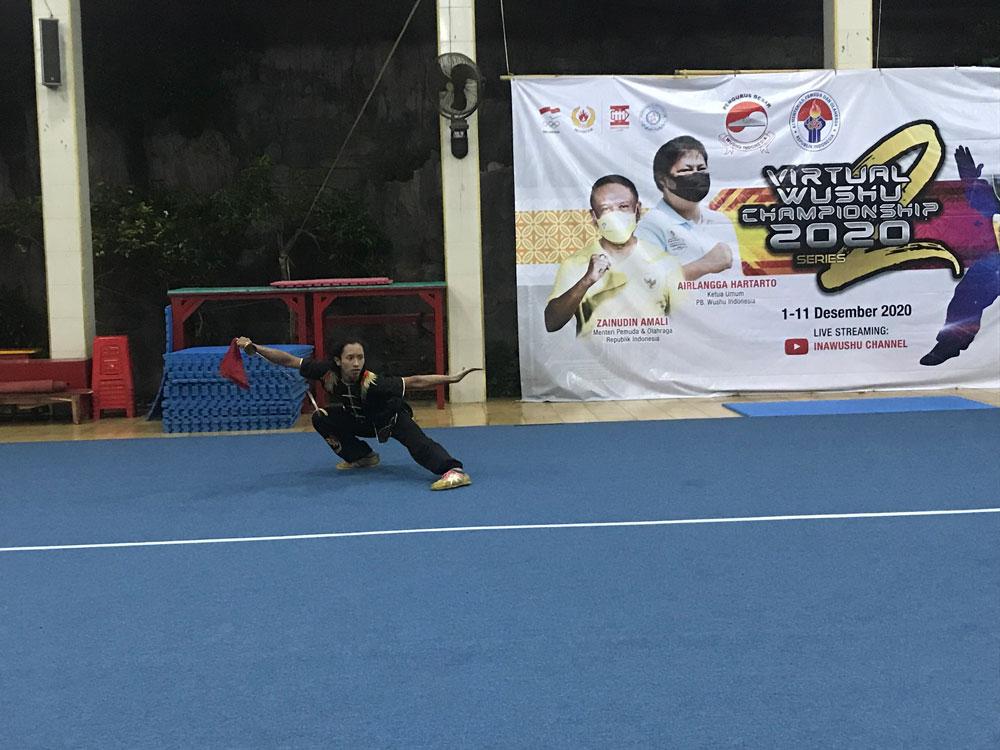 Karel Sinar Naga Atlet Wushu Bali